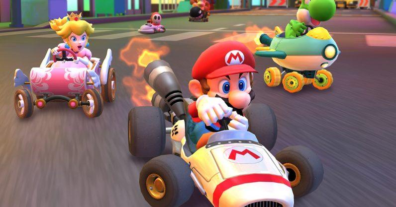 Mario Kart Tour acaba de ultrapassar Pokémon GO logo no primeiro dia de downloads