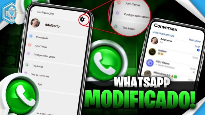 Tenha o WhatsApp Idêntico Ao IOS.