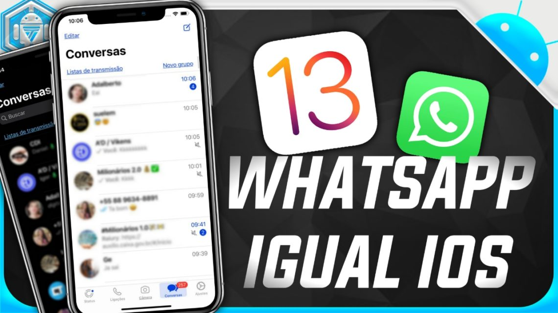 CMWhatsApp Igual iPhone (IOS 13)