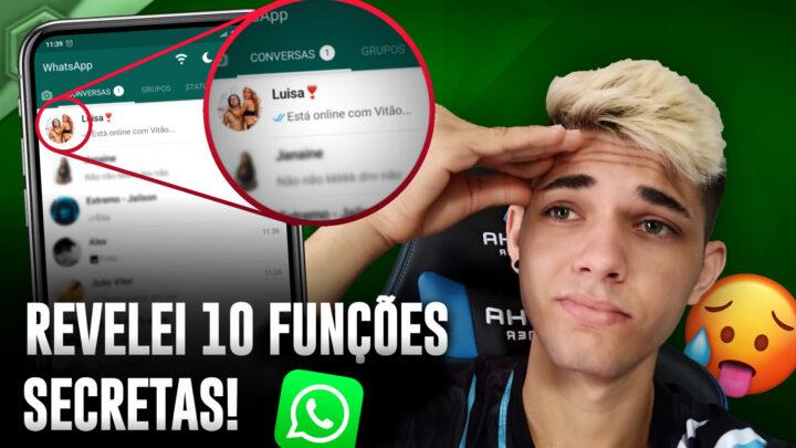 10 FUNÇÕES NUNCA REVELADAS!
