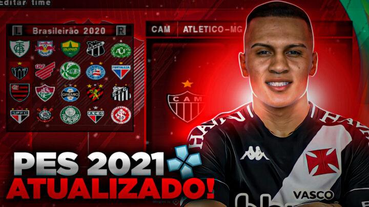 PES 2021 PARA PPSSPP CAMPEONATO SULAMERICANO E BRASILEIRÃO