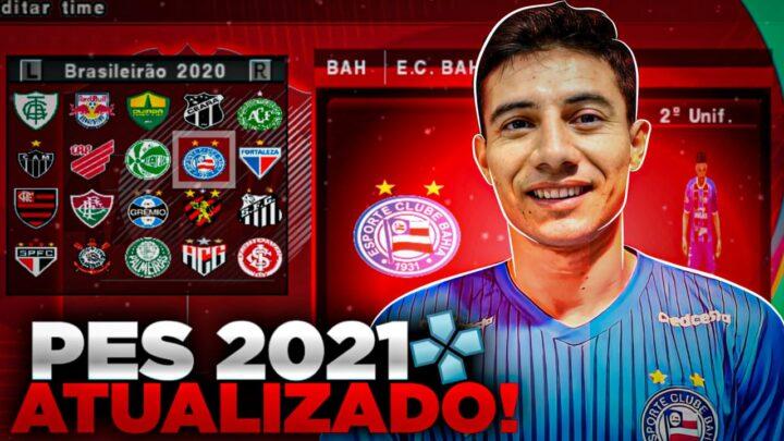 PES 2021 COMPLETAMENTE ATUALIZADO PARA ANROID