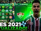 PES 2021 ANDROID COM BRASILEIRÃO ABCD