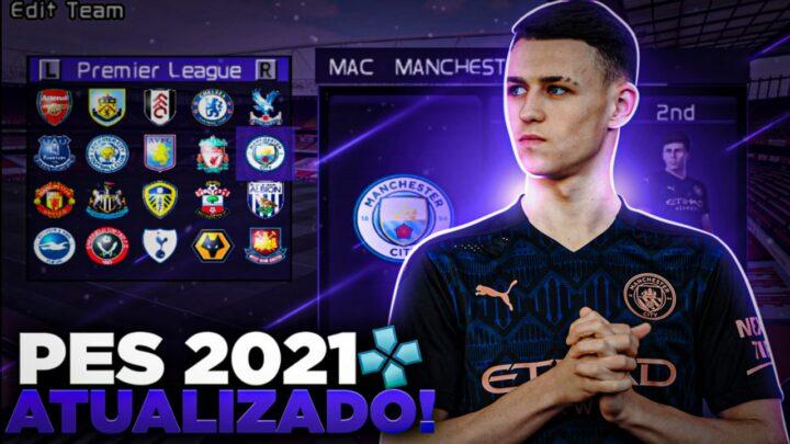 PES 2021 COM UEFA CHAMPIONS LEAGUE E LIBERTADORES