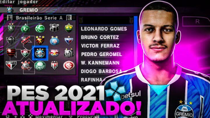 PES 2021 LITE ATUALIZADO PARA PPSSPP
