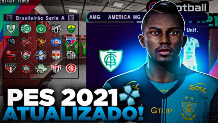 PES 2021 SULAMERICANO PARA PPSSPP