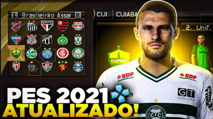 PES 2021 PPSSPP LIBERTADORES PARA ANDROID