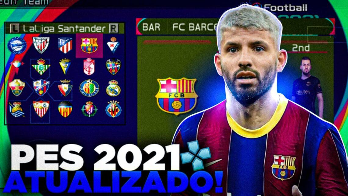 PES 2021 OFFLINE ATUALIZADO ANDROID