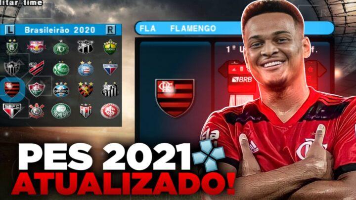 PES 2021 OFFLINE PARA EMULADOR PPSSPP ATUALIZADO