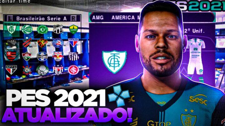 PES 2021 SULAMERICANO COM LIBERTADORES DA AMERICA ANDROID