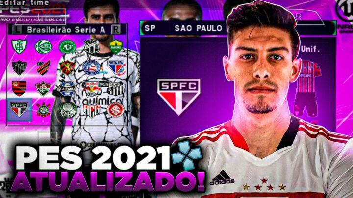 PES 2021 SULAMERICANO E ATUALIZADO PARA ANDROID