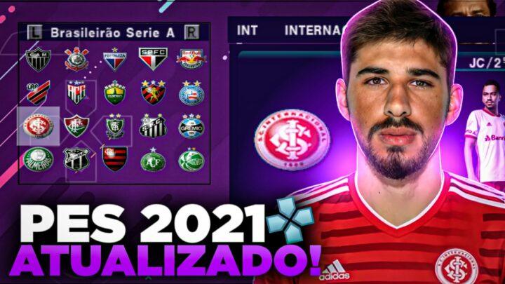 PES 2021 PPSSPP COMPLETAMENTE ATUALIZADO