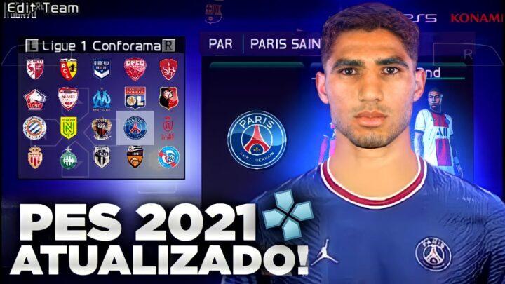 PES 2021 COM AS NOVAS TRANSFERENCIAS ATUALIZADAS