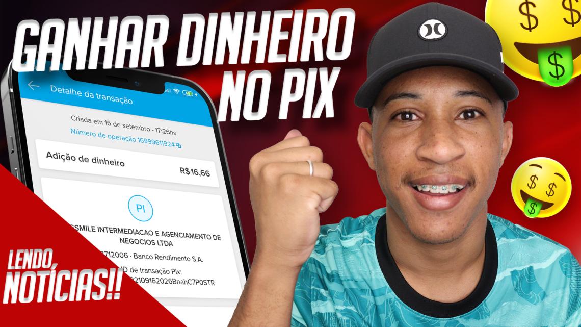 LANÇOU!! NOVO APLICATIVO PARA GANHAR DINHEIRO NO PIX (LENDO NOTÍCIAS) | Ganhar dinheiro online