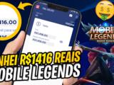 Ganhar dinheiro com mobile legends-MLBB